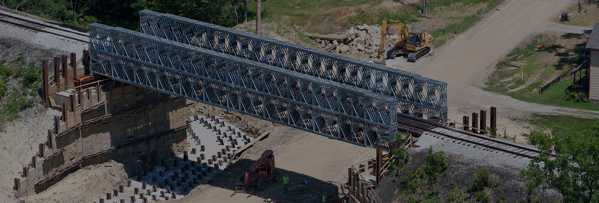 Railroad Prefabricated Modular Bridge