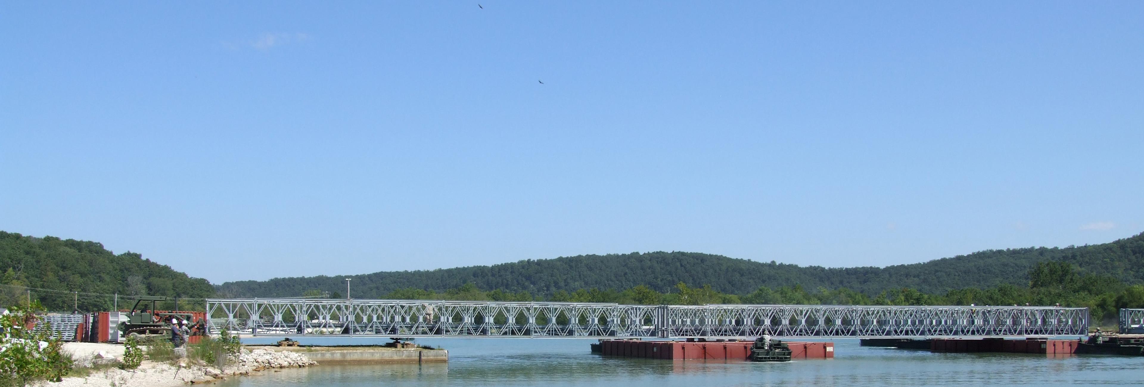 Acrow Military Wet Gap Bridge