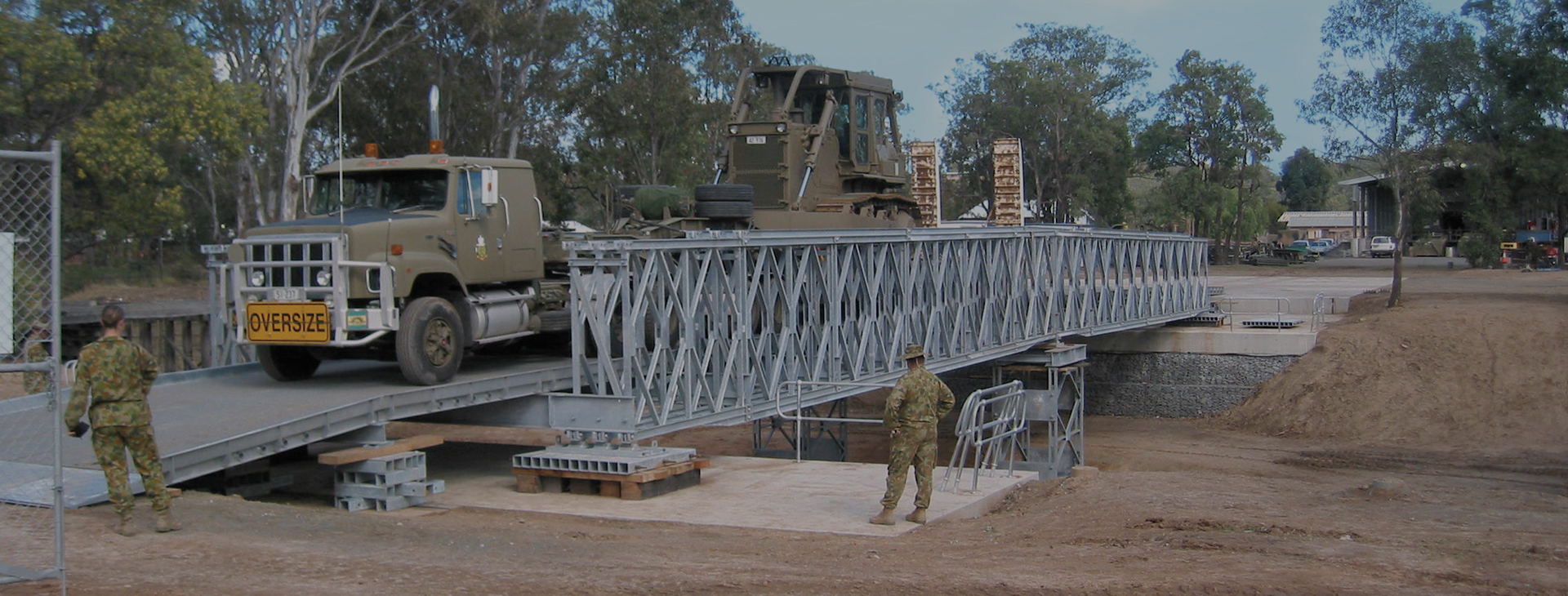 Military Dry Gap Bridge