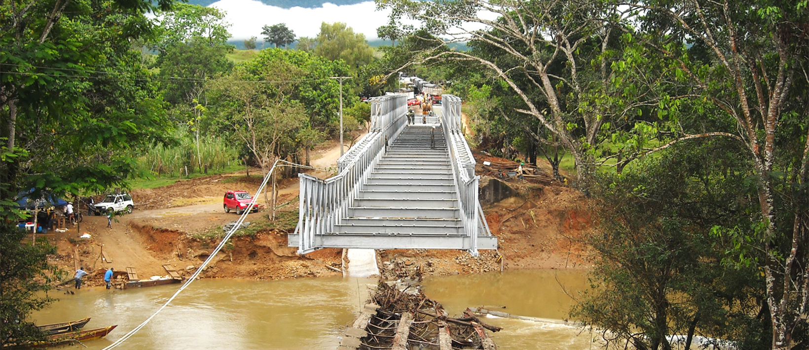 Modular Bridge Installation