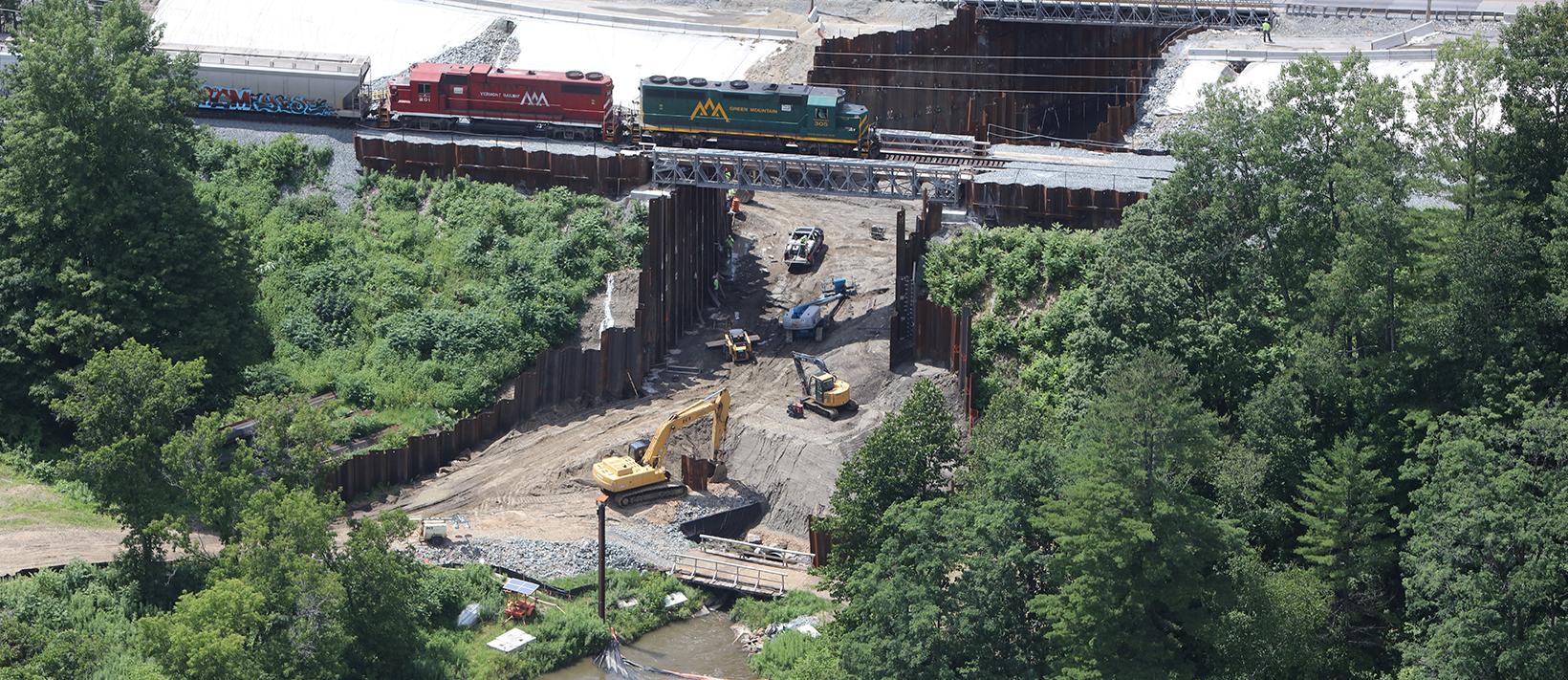 Railroad Modular Bridge
