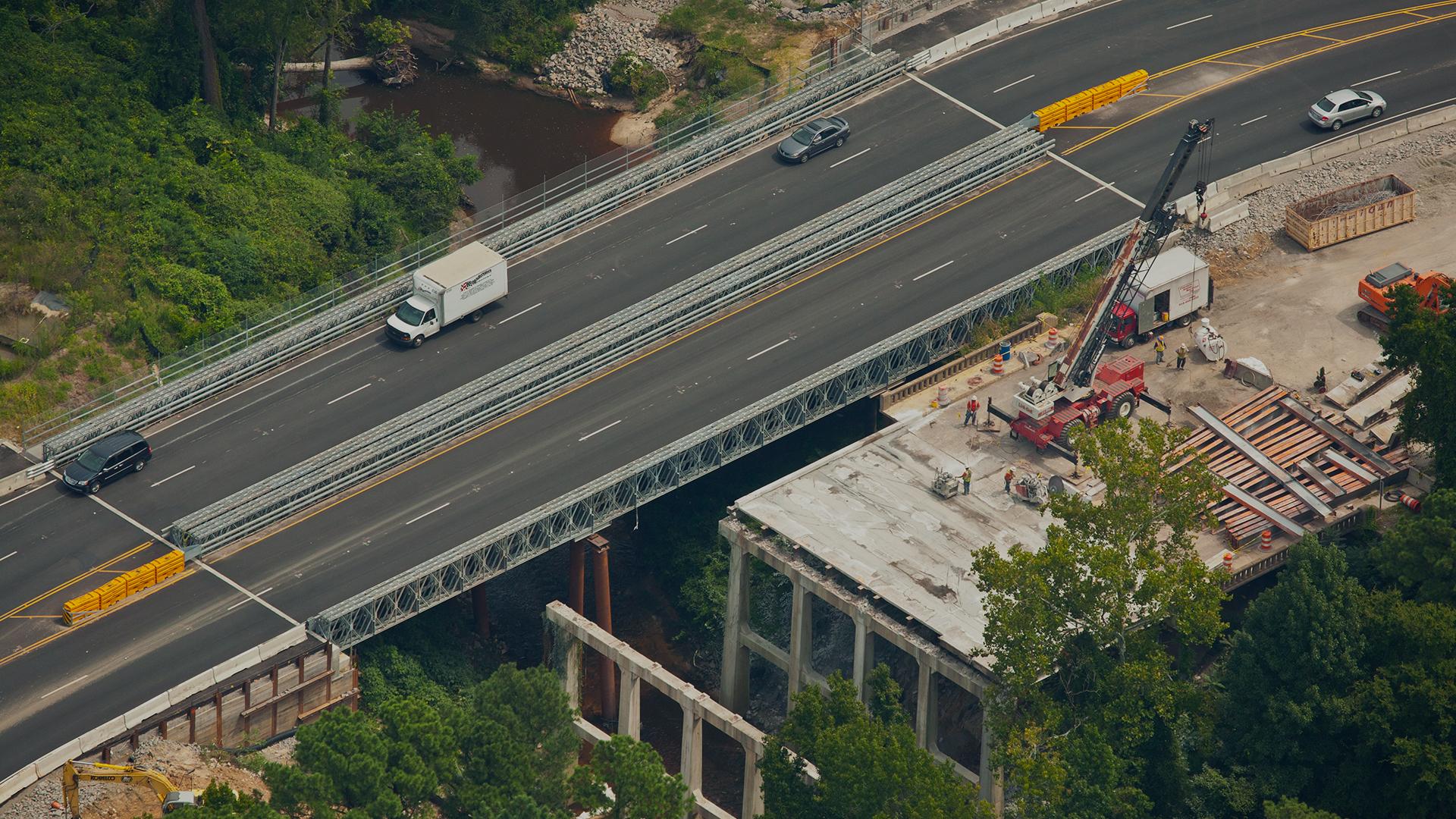 Temporary Rental Modular Bridges