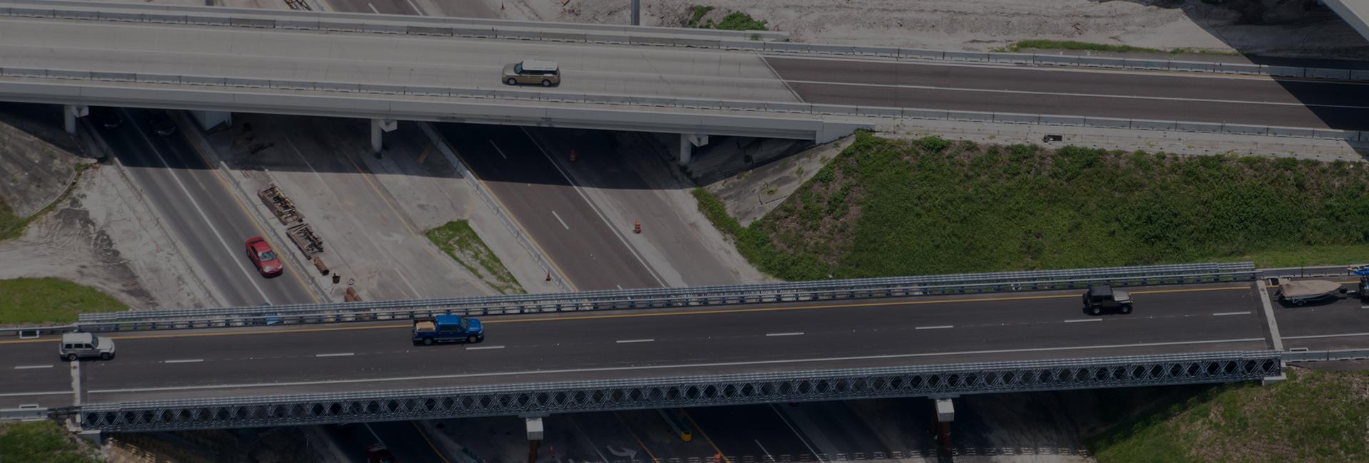 Temporary Rental Modular Bridge