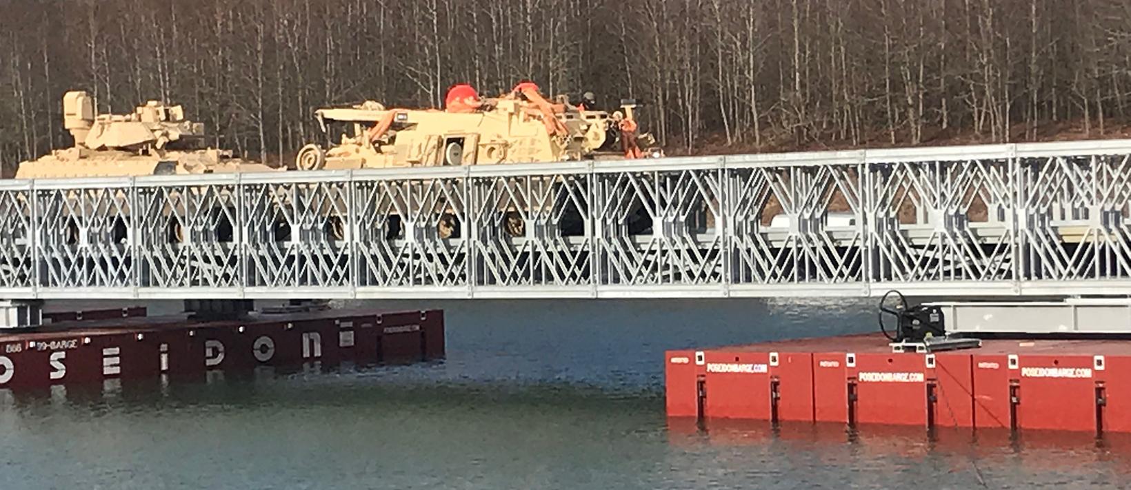 Military Wet Gap Bridge