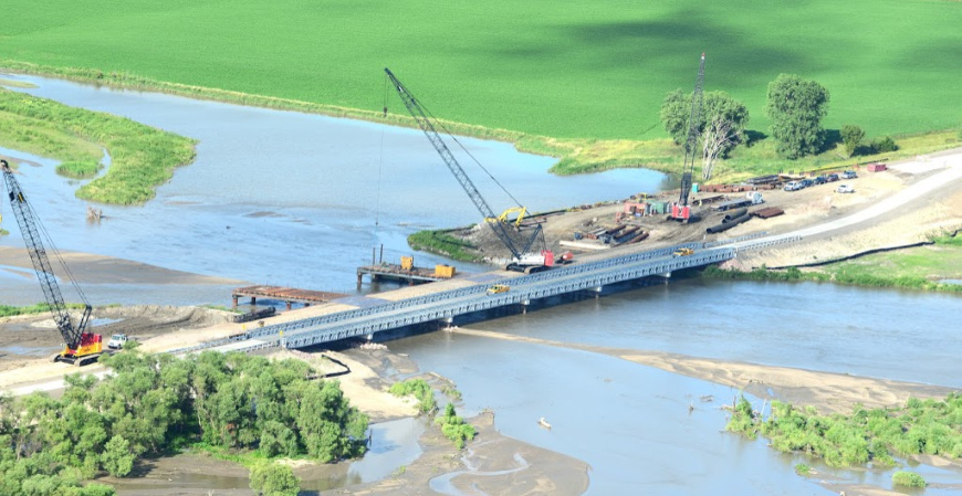 Acrow Nebraska Flooding Case Study