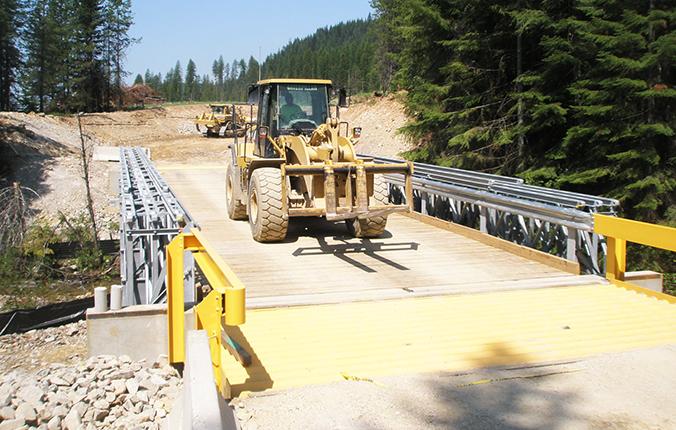 Acrow Extractive Modular Bridges