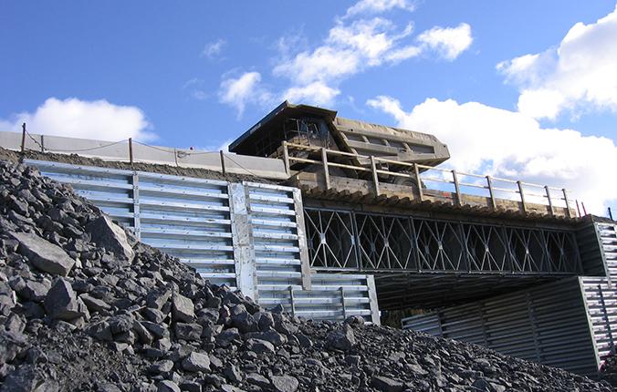 Acrow Heavy Haul Modular Bridges