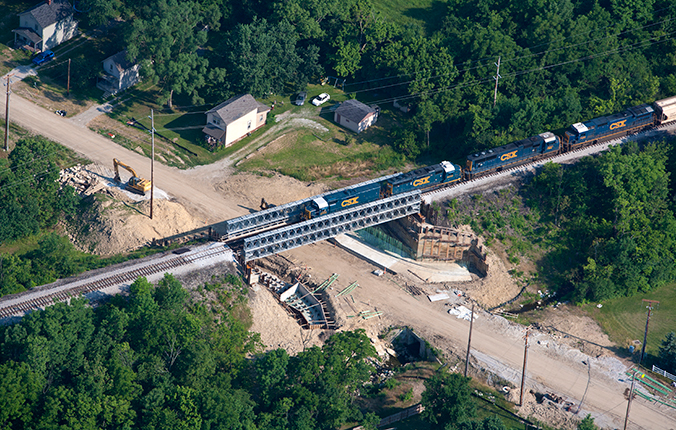 Acrow Railroad Modular Bridges