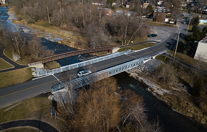 Acrow Vehicular Modular Bridges